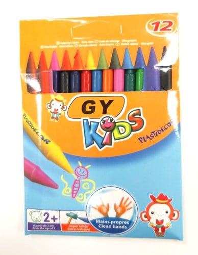 מארז צבעי שעווה דקים לילדים