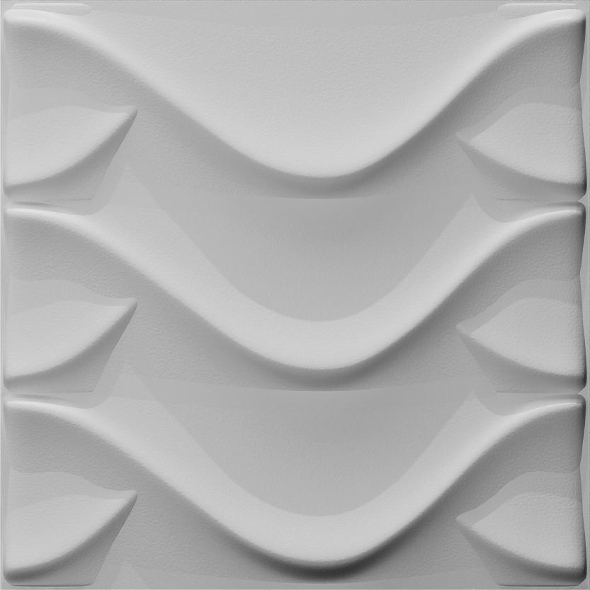 חיפויי קיר תלת מימדי דגם Dragon בגודל 50X50