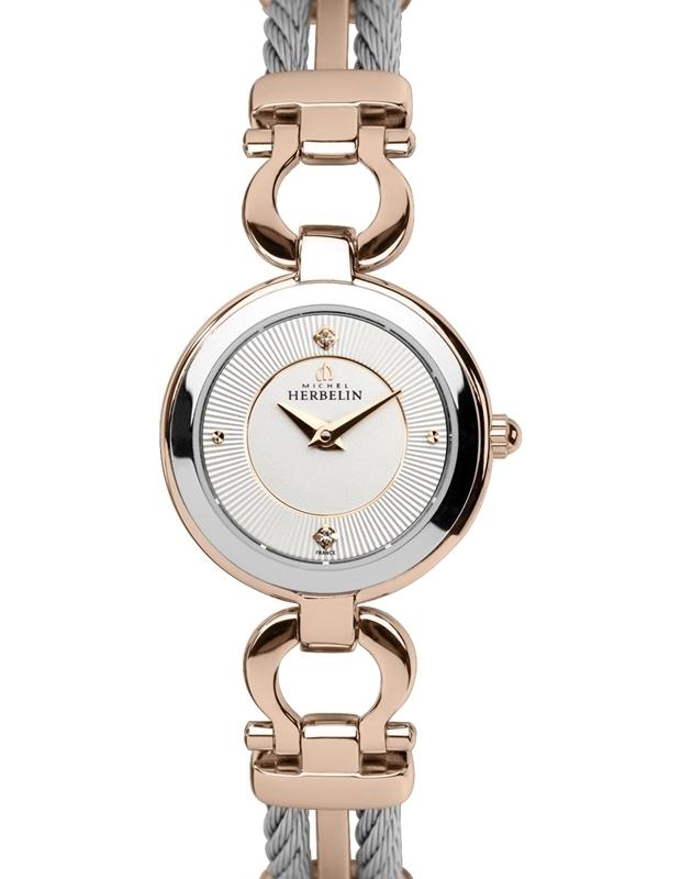 שעון יד אנלוגי נשיםMichel Herbelin 17422/BTR11