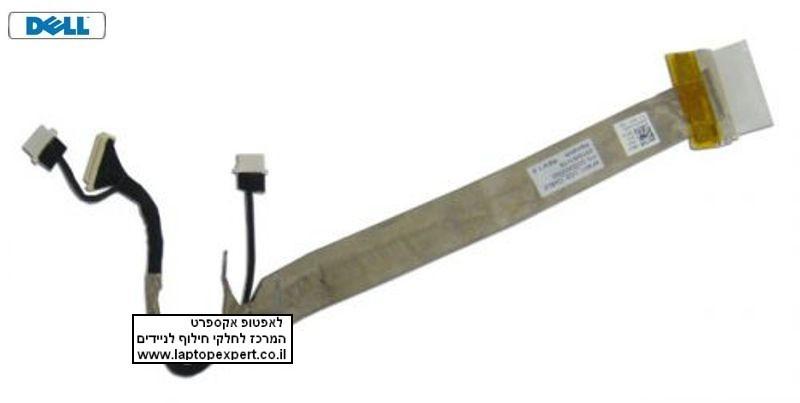 כבל מסך למחשב נייד דל Dell Inspiron 1425 / 1427 LCD Cable DC020000S00 , KFW11 , DC02000E200