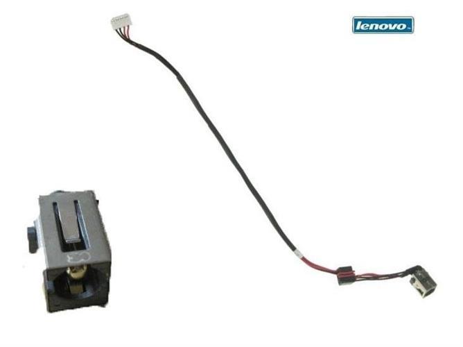 שקע טעינה למחשב נייד לנובו Lenovo G570 dc power jack plug harness cable DC30100CS00