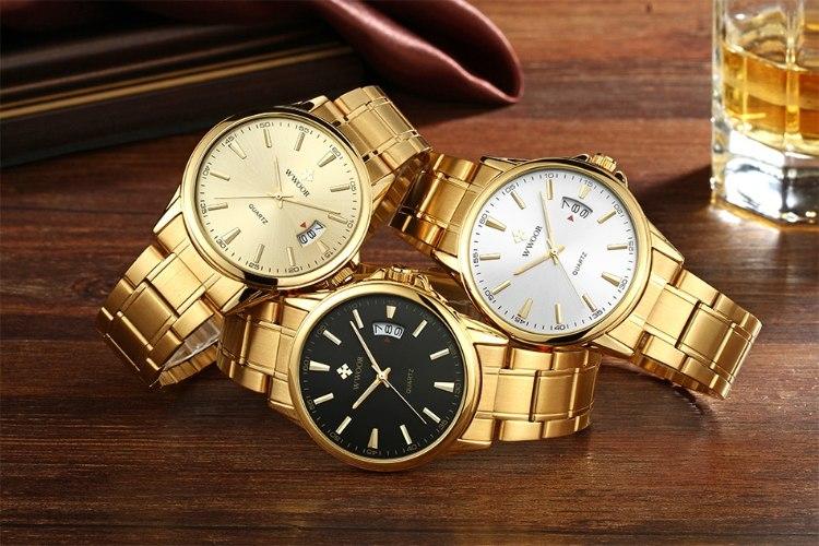 שעון יד וואר צבע זהב