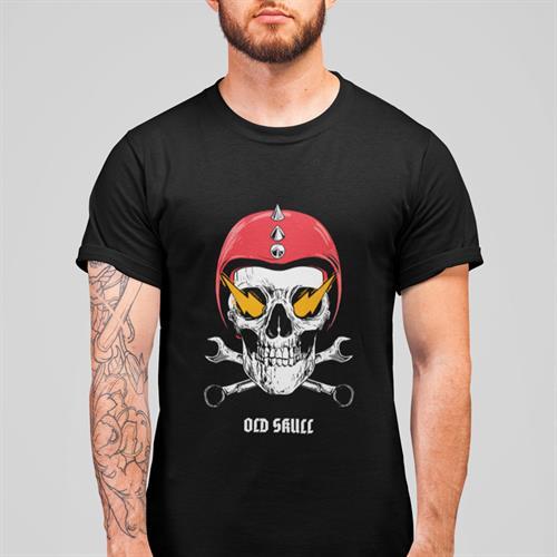 חולצת טי - Old Skull