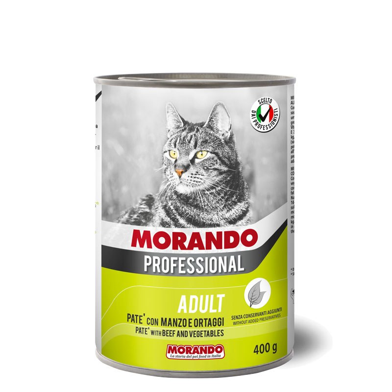מורנדו פטה 400 גרם בקר וירקות