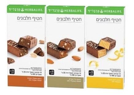 2 חבילות חטיפי חלבונים לבחירתך