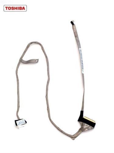 כבל מסך למחשב נייד טושיבה Toshiba Satellite C660 Lcd Cable DC020011Z10