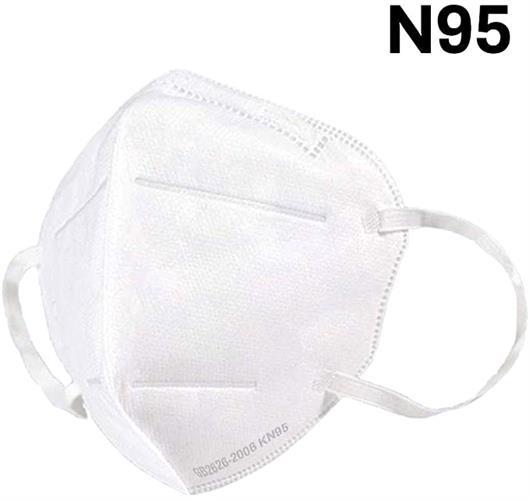 מארז 4 מסכות נשימה KN95 להגנה מנגיף הקורונה