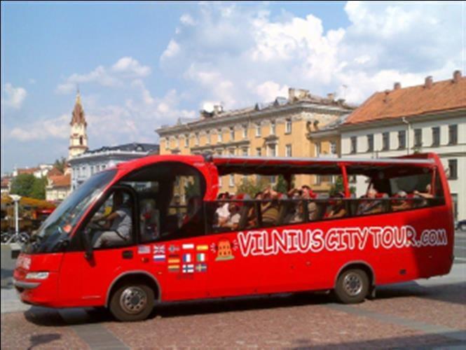 וילנה - סיור פנורמי באוטובוס תיירים