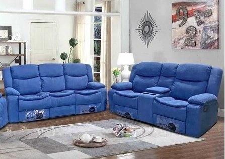 עותק של ספה 2+3 מושבים ג'ק מרלו ( בד כחול )