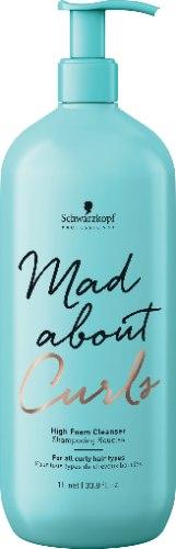 שמפו קצף עדין ללא סופלט לשיער מתולתל מבית-  Schwarzkopf (ליטר)