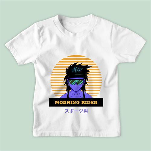 חולצת ילדים Morning Rider