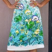 שמלת סיקסטיז מופלאה מידה M