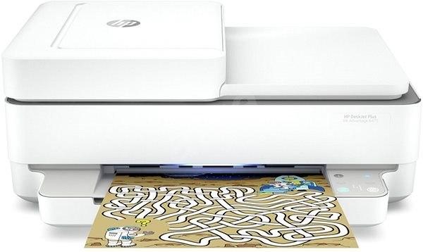 מדפסת HP DESKJET AIO 6475 IA Plus