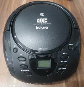 מערכת שמע ניידת INNOVA RD10 רדיו דיסק בלוטוס