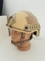 Tactical Fast Ballistic Helmet – Masada Armour Desert Tan