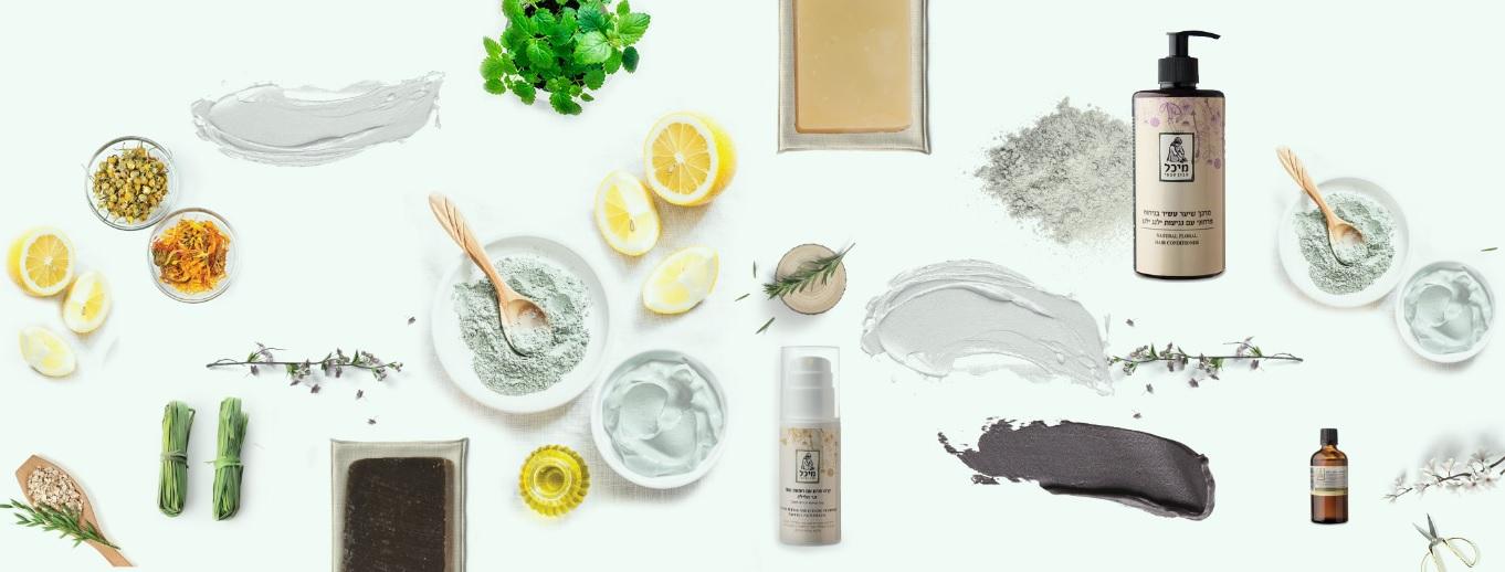 מיכל סבון טבעי - פופקה