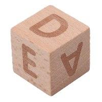 קוביות האותיות -אנגלית
