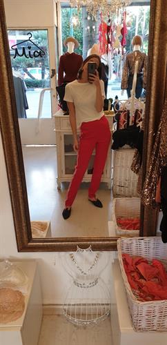 מכנס מיילי - אדום