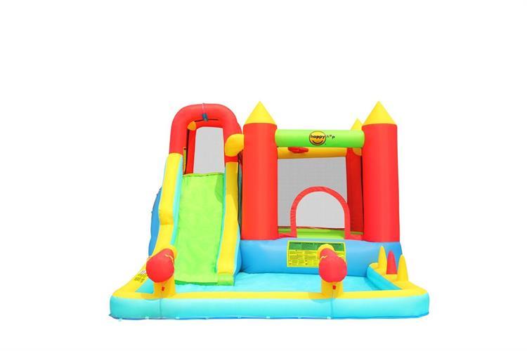 מתקן מים מתנפח הכולל תותח מים הפי הופ - 9247 - Airflow play & spalsh center HappyHop