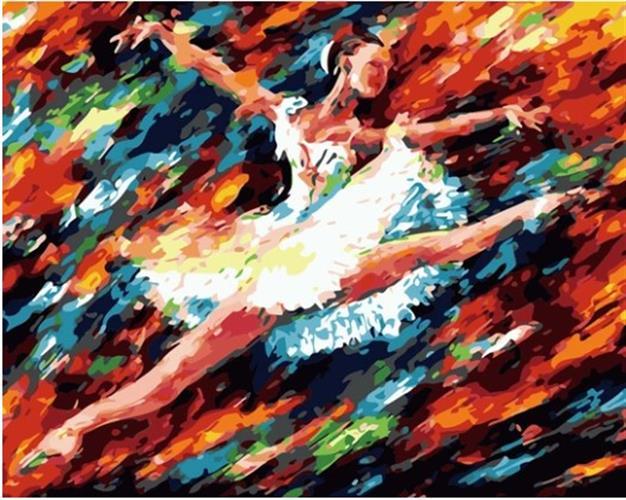 צביעה לפי מספרים - תשוקת הריקוד