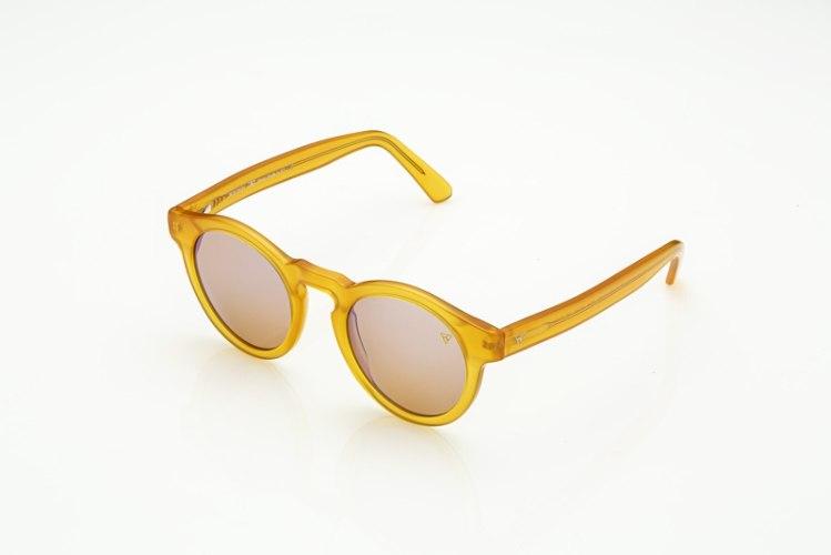 משקפי היפרלייט (נגד קרינה) דגם TLW-107YE מסגרת צהובה