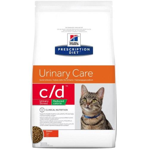 מזון רפואי לחתולים דל קלוריות הילס C/D Hill's Prescription Diet C/D Reduced Calorie 8KG
