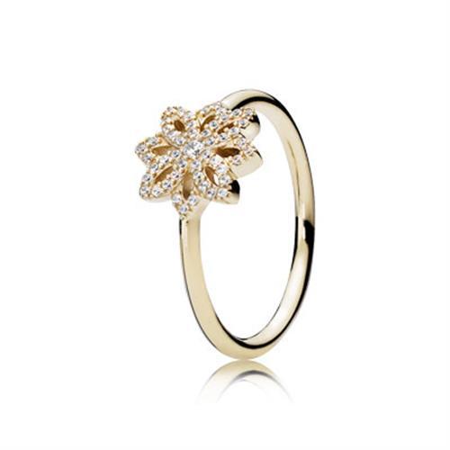טבעת זהב פנדורה 150182CZ