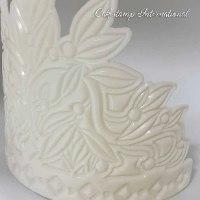 SHAKED CROWN Chocolate mold | Crown DIY Sugar Craft Fondant Chocolate Mold Decorating Tools