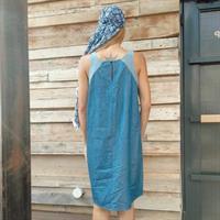 שמלת שיר קצרה -DENIM