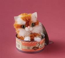ערכת יצירה פונפונים של חתולים KLUTZ