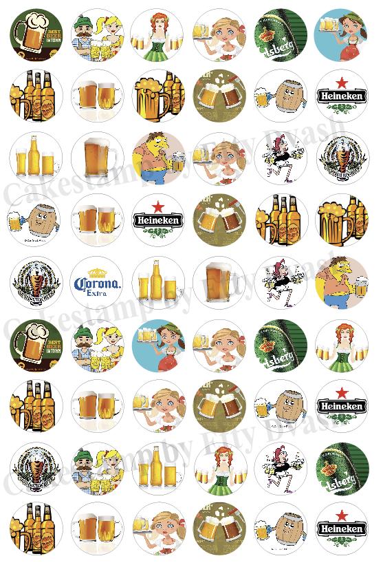דף טרנספר - יום הולדת בירה - 54 יח' בדף