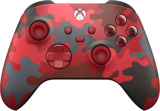 בקר משחק אלחוטי Microsoft Xbox Series-X - צבע Daystrike Camo