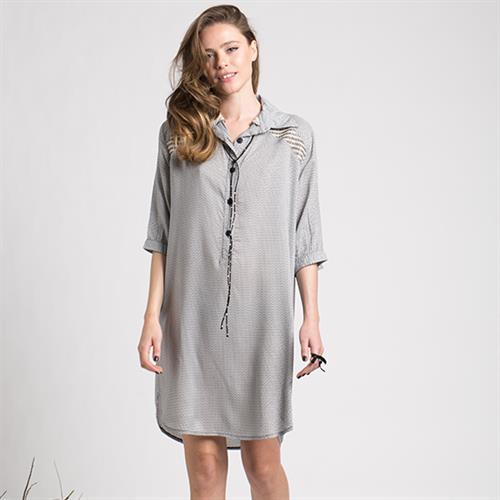 שמלת ג'וי כותנה מודפס