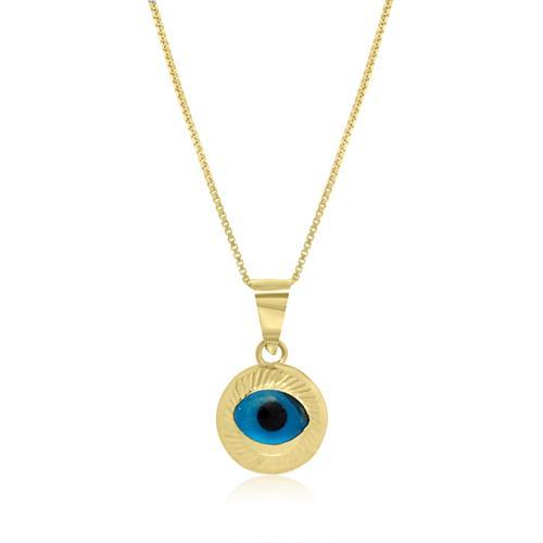 שרשרת עין זהב מיוחדת מאוד