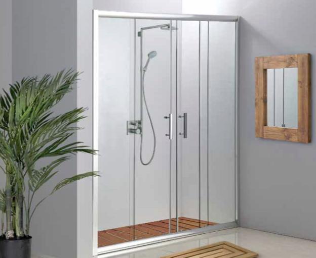 מקלחון חזית לסגירת גומחה - חדש