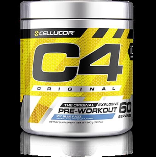 C4 פורמולת קריאטין חזקה-PRE-WORKOUT
