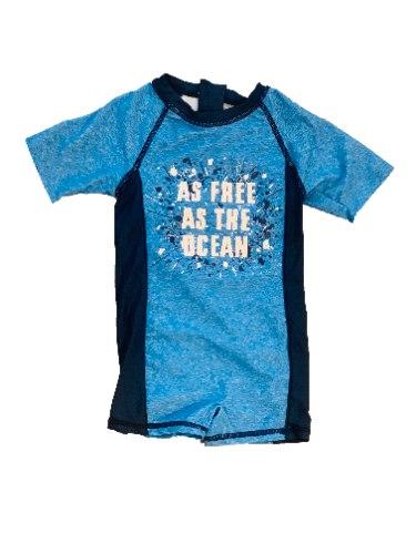 בגד ים אוברול כחול