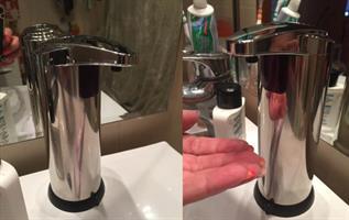 מתקן סבון אוטומטי כולל חיישן