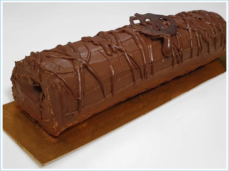רולדת קרם שוקולד חגיגית