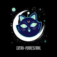 חולצת טי - Extra Purrestrial
