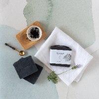 סבון פחם פעיל והמפ   CHARCOAL & HEMP CLEANSING BAR