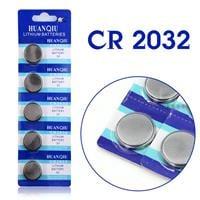 מארז 5 סוללות כפתור איכותיות-cr2032-3v
