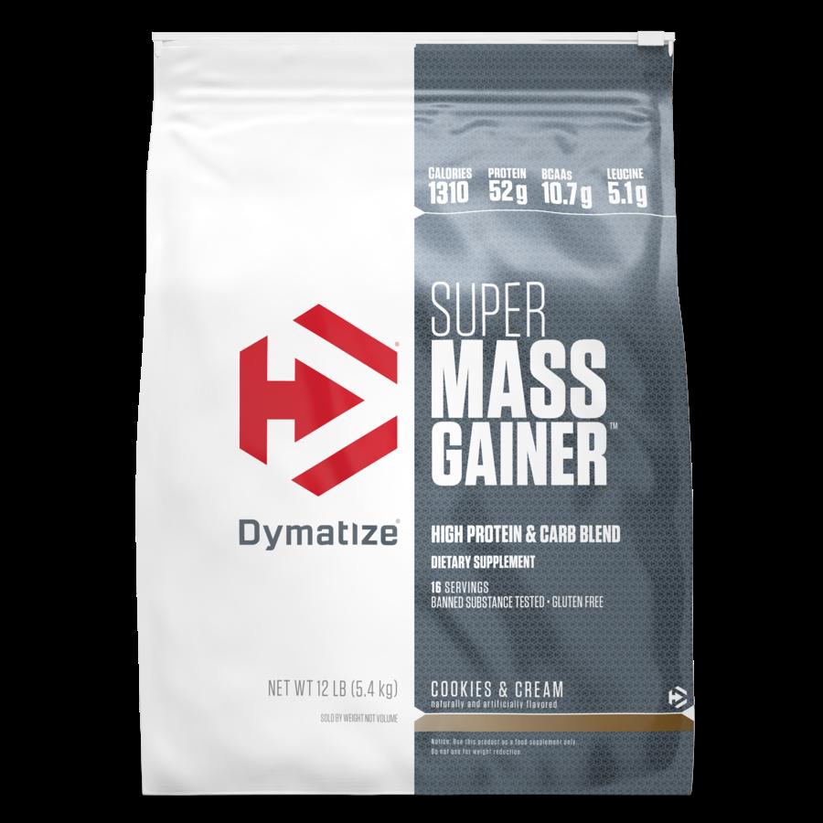 """דיימטייז סופר מאס גיינר 5.4 ק""""ג - Dymatize Super Mass Gainer"""