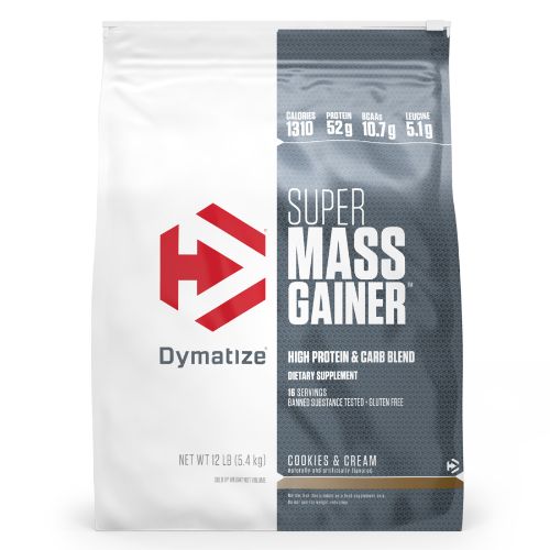 "דיימטייז סופר מאס גיינר 5.4 ק""ג - Dymatize Super Mass Gainer"