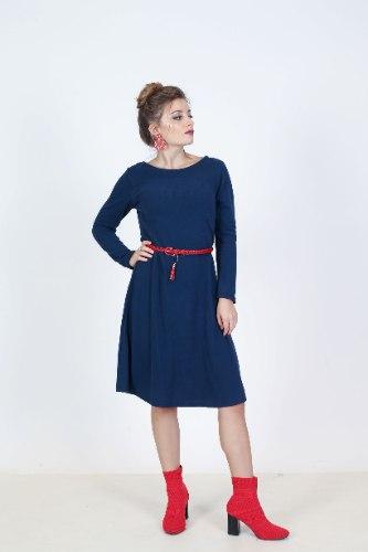 שמלת לין פליז חלק