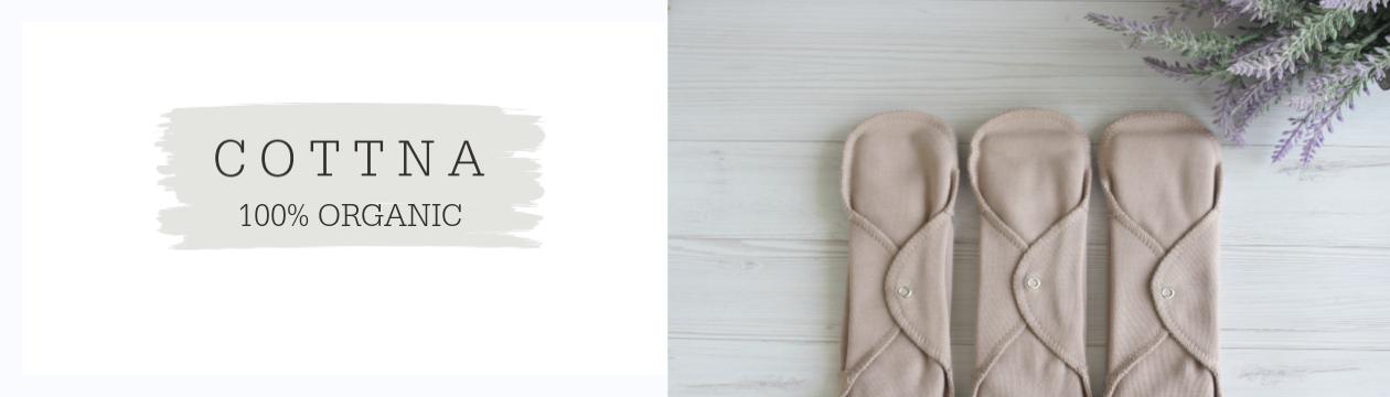 תחבושות רב פעמיות מכותנה אורגנית - ענת שיינרמן - בטבע שלי