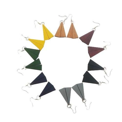 עגילי איימי-מגוון צבעים