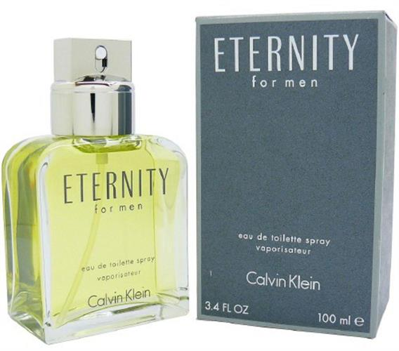 ETERNITY for Men by CALVIN KLEIN 3.4 oz edt