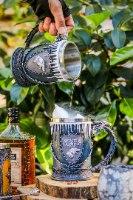 """סט כוסות אבירים המלך והמלכה 620 מ""""ל"""