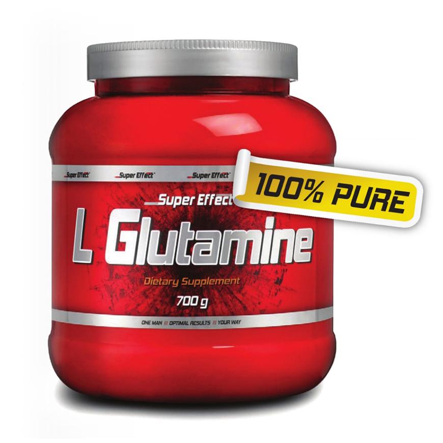 אבקת ל-גלוטמין 700 גרם - Super Effect L Glutamine